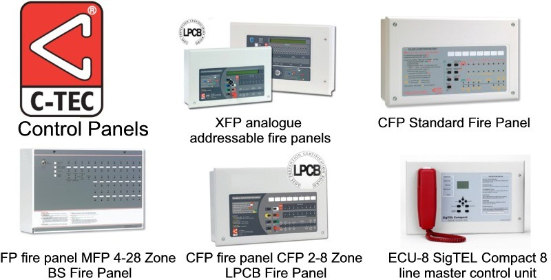 Fire Panels -Ctec