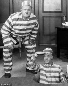 Picture of Laurel & Hardy as Burgulars