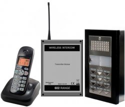Wireless Intercom audio with coded access
