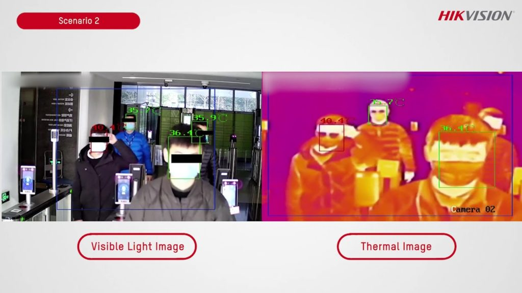 HIKVision Temperature Screening Thermal Solutions