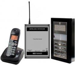 Comelit Audio Intercom with Wireless Walk Around Dectphone (WA1 & WA2)